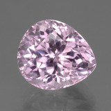 thumb image of 7.2ct Pear Facet Pink Kunzite (ID: 441163)