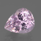 thumb image of 7.4ct Pear Facet Pink Kunzite (ID: 441212)