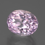 7.62 ct Oval Facet Pink Kunzite Gem 12.11 mm x 9.6 mm (Photo B)