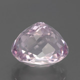 7.62 ct Oval Facet Pink Kunzite Gem 12.11 mm x 9.6 mm (Photo C)
