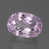 11.76 ct Oval Facet Pink Kunzite Gem 14.53 mm x 10.1 mm (Photo B)