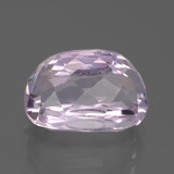 11.76 ct Oval Facet Pink Kunzite Gem 14.53 mm x 10.1 mm (Photo C)