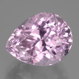 thumb image of 12.7ct Pear Facet Pink Kunzite (ID: 441248)