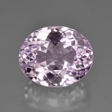 thumb image of 9.5ct Oval Facet Pink Kunzite (ID: 450855)