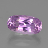 thumb image of 3.3ct Oval Facet Pink Kunzite (ID: 453470)