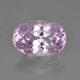 thumb image of 5.4ct Oval Facet Pink Kunzite (ID: 453489)