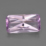 thumb image of 6.6ct Octagon / Scissor Cut Pink Kunzite (ID: 453511)