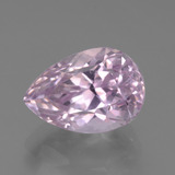 thumb image of 7.3ct Pear Facet Pink Kunzite (ID: 453539)