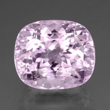thumb image of 35.3ct Cushion-Cut Pink Kunzite (ID: 458826)