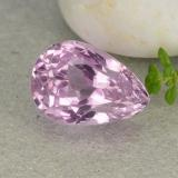 thumb image of 9.1ct Pear Facet Pink Kunzite (ID: 482132)