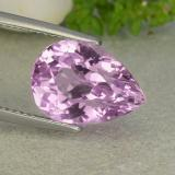 thumb image of 7.2ct Pear Facet Pink Kunzite (ID: 482142)