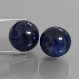 thumb image of 15.8ct Drilled Sphere Blue Kyanite (ID: 447301)