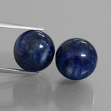 thumb image of 29.4ct Drilled Sphere Blue Kyanite (ID: 447303)