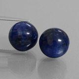 thumb image of 30.2ct Drilled Sphere Blue Kyanite (ID: 447304)
