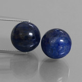 thumb image of 29.5ct Drilled Sphere Blue Kyanite (ID: 447308)