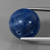 thumb image of 16.8ct Drilled Sphere Blue Kyanite (ID: 447448)