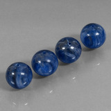 thumb image of 55.5ct Drilled Sphere Blue Kyanite (ID: 447454)