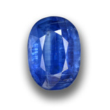 thumb image of 1.3ct Oval Facet Blue Kyanite (ID: 459040)