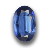 thumb image of 1.7ct Oval Facet Blue Kyanite (ID: 459045)