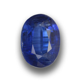 thumb image of 1.7ct Oval Facet Blue Kyanite (ID: 459047)