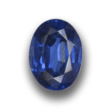 thumb image of 1.6ct Oval Facet Blue Kyanite (ID: 459048)