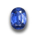 thumb image of 1.3ct Oval Facet Blue Kyanite (ID: 459049)