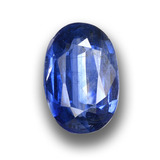 thumb image of 1.4ct Oval Facet Blue Kyanite (ID: 459050)
