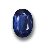 thumb image of 1.1ct Oval Facet Blue Kyanite (ID: 459115)
