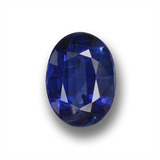 thumb image of 1.3ct Oval Facet Deep Blue Kyanite (ID: 459118)