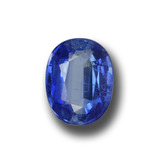 thumb image of 1.4ct Oval Facet Blue Kyanite (ID: 459137)