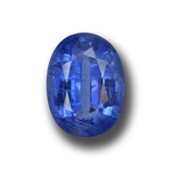 thumb image of 1.9ct Oval Facet Blue Kyanite (ID: 459138)