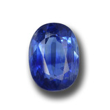 thumb image of 1.9ct Oval Facet Blue Kyanite (ID: 459141)