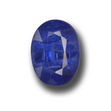 thumb image of 2.7ct Oval Facet Blue Kyanite (ID: 459161)