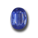 thumb image of 2.3ct Oval Facet Blue Kyanite (ID: 459164)