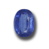 thumb image of 2.5ct Oval Facet Blue Kyanite (ID: 459169)