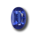 thumb image of 2.2ct Oval Facet Blue Kyanite (ID: 459170)