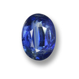 thumb image of 1.5ct Oval Facet Blue Kyanite (ID: 459205)