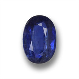 thumb image of 1ct Oval Facet Blue Kyanite (ID: 459244)