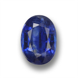 thumb image of 1.3ct Oval Facet Deep Blue Kyanite (ID: 459246)