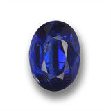 thumb image of 1ct Oval Facet Deep Blue Kyanite (ID: 459247)