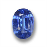thumb image of 1.8ct Oval Facet Blue Kyanite (ID: 459252)