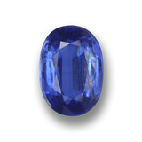 thumb image of 1.5ct Oval Facet Blue Kyanite (ID: 459253)