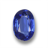 thumb image of 1.4ct Oval Facet Blue Kyanite (ID: 459254)