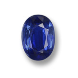 thumb image of 0.9ct Oval Facet Blue Kyanite (ID: 459267)