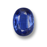thumb image of 0.9ct Oval Facet Blue Kyanite (ID: 459271)