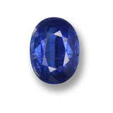 thumb image of 1ct Oval Facet Blue Kyanite (ID: 459275)