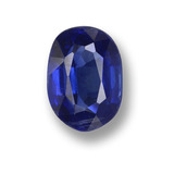thumb image of 1ct Oval Facet Blue Kyanite (ID: 459276)