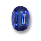 thumb image of 1ct Oval Facet Blue Kyanite (ID: 459278)