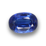 thumb image of 1.1ct Oval Facet Blue Kyanite (ID: 459312)