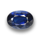 thumb image of 1.1ct Oval Facet Deep Blue Kyanite (ID: 459313)